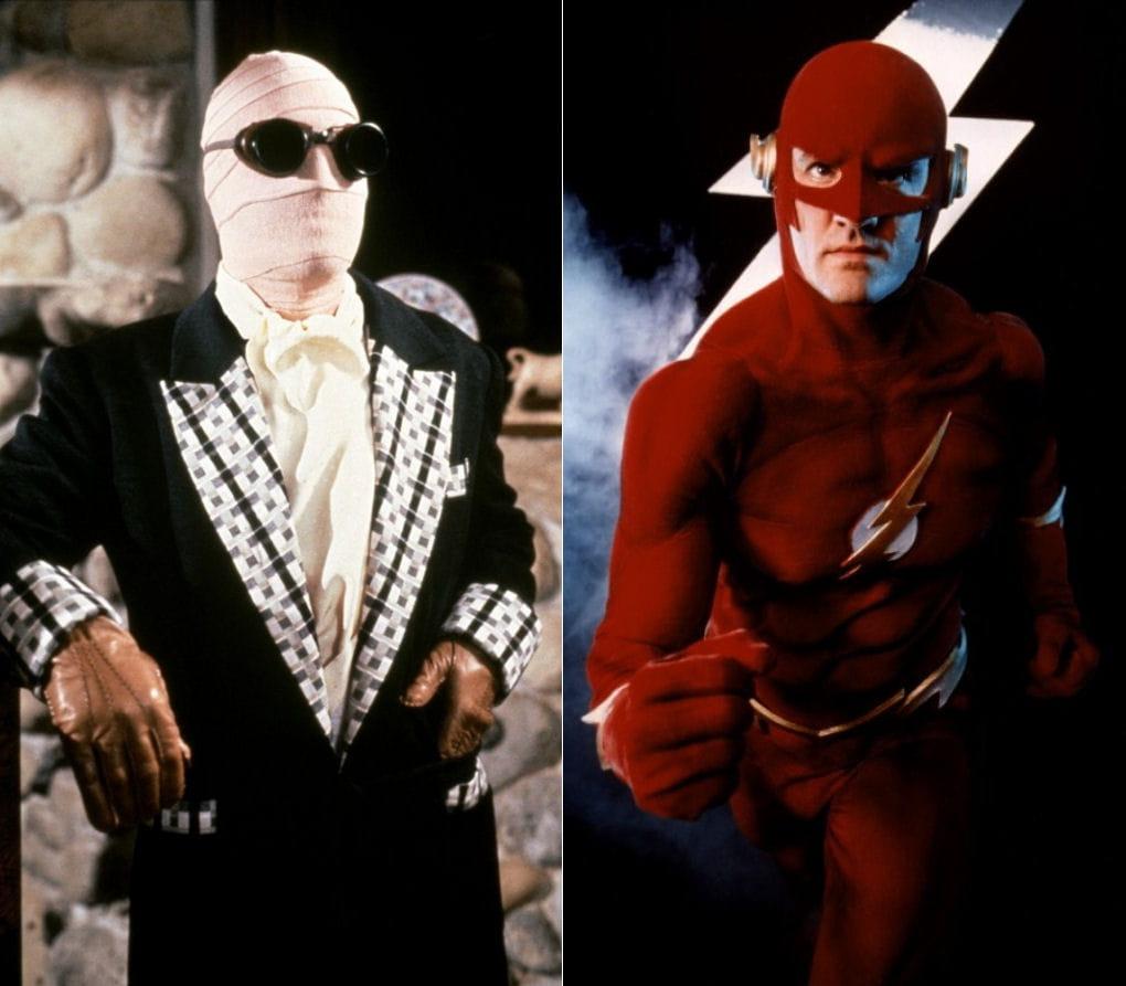 L 39 homme invisible contre flash le grand match des super h ros linternaute - Flash le super heros ...