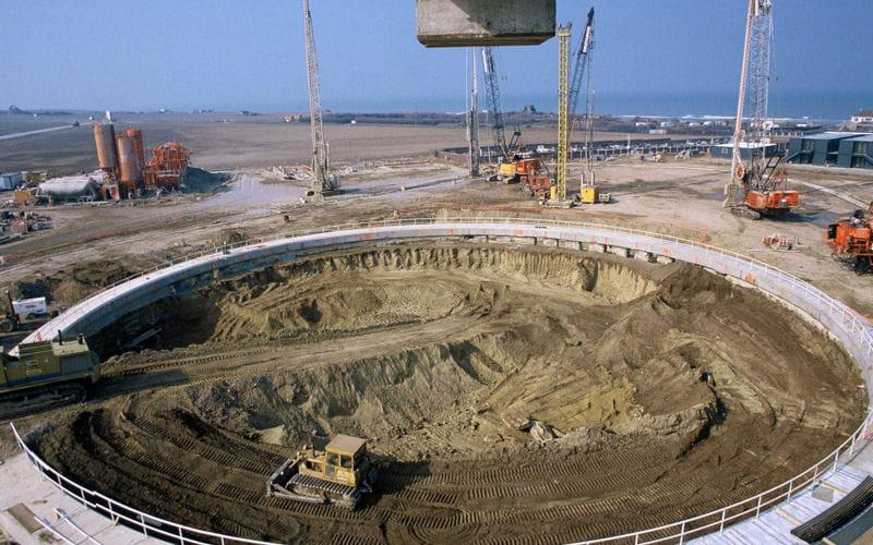 Grand reportage rem moration il y a 20 ans le for Construction de tunnel