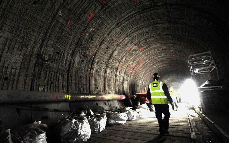 passage tunnel sous la manche
