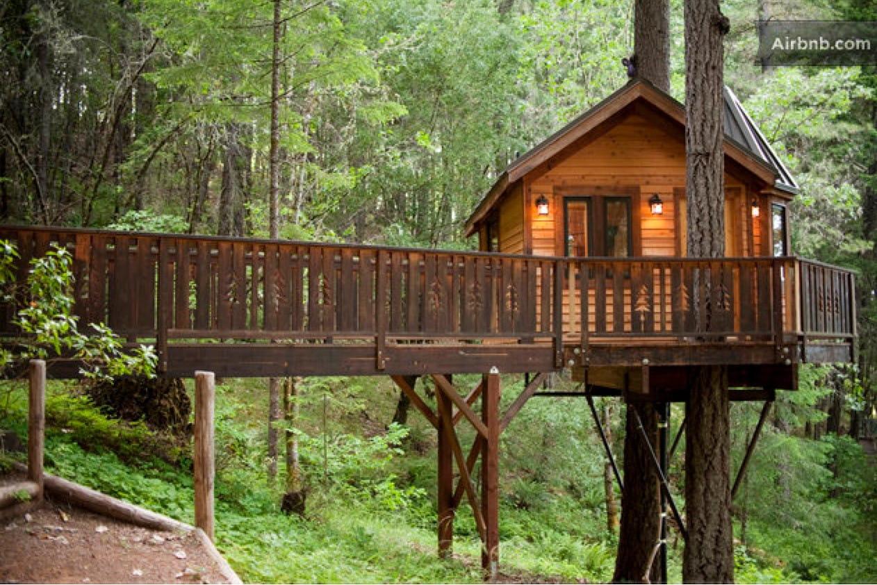 ma cabane dans les arbres en oregon 185 euros les. Black Bedroom Furniture Sets. Home Design Ideas