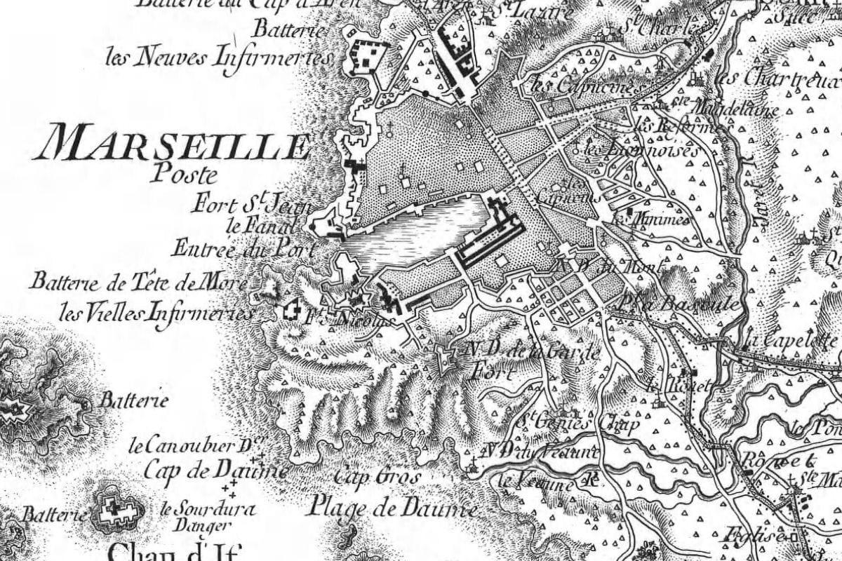 Marseille au xviiie si cle a quoi ressemblaient les for Cuisine xviiie siecle