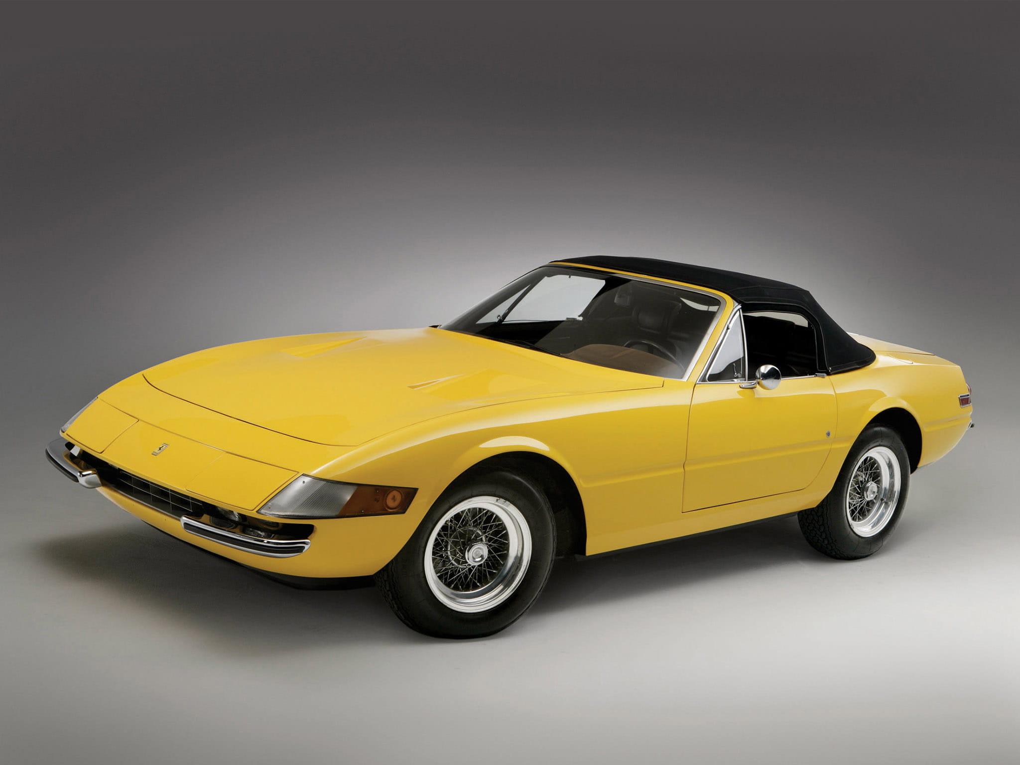 Ferrari 365 GTS/4 Daytona Spider : Les cabriolets les plus ...