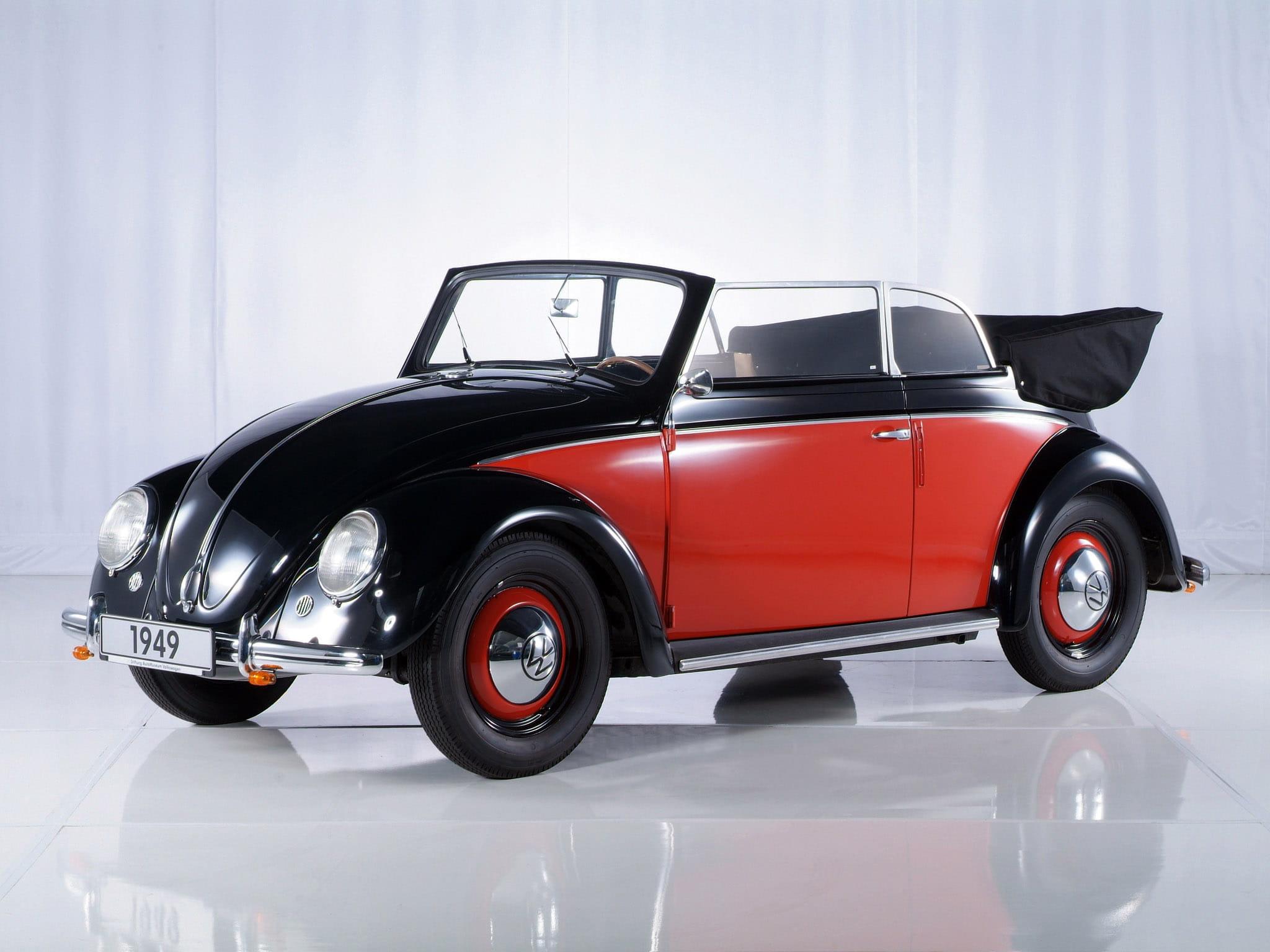 volkswagen coccinelle cabriolet les cabriolets les plus marquants de l 39 histoire automobile. Black Bedroom Furniture Sets. Home Design Ideas