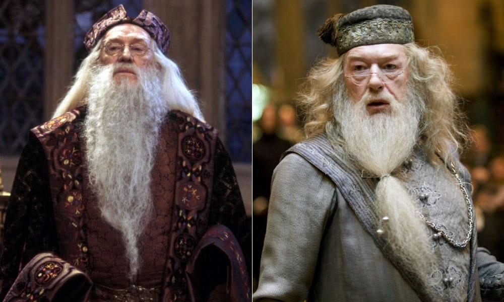 """Albus Dumbledore dans """"Harry Potter"""" : Richard Harris et ..."""