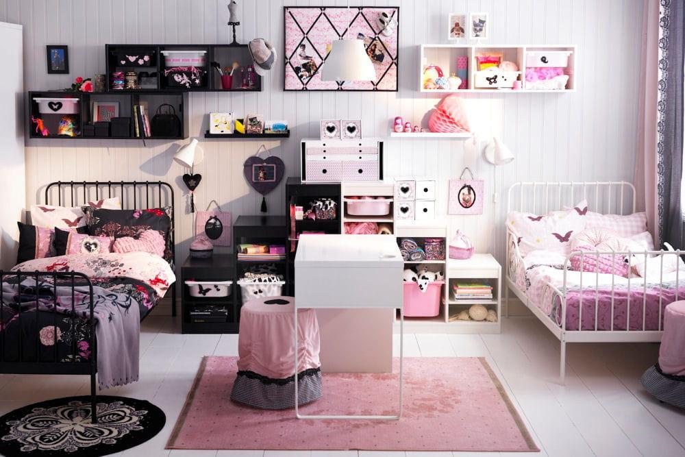 d co baroque pour chambre de fillette. Black Bedroom Furniture Sets. Home Design Ideas