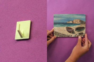 Accrocher un tableau sans faire de trous dans le mur - Accrocher un tableau sans clou ni vis ...