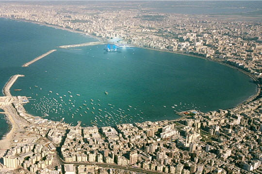 La baie d'Alexandrie
