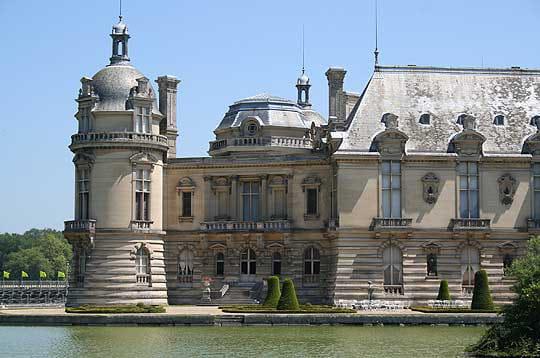 Chantilly c t daumet visite du ch teau de chantilly - Architecte chantilly ...