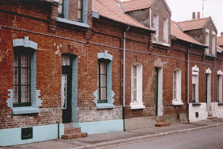 Les corons du nord ces maisons pittoresques de nos for Les maisons en france