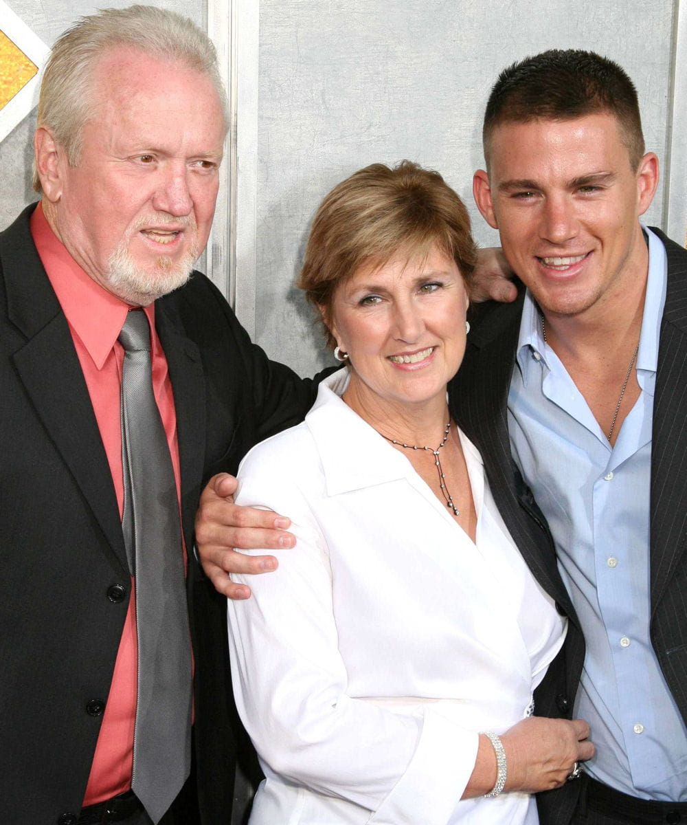 Photo of Channing Tatum & his  Mother  Kay