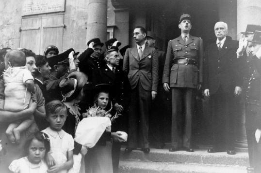 Le retour de de Gaulle