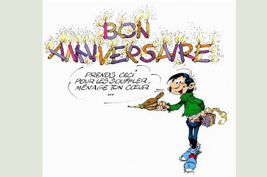 16/05 Anniversaires : canet 79, jd28, luc 70, marwa insat, mj88, soliciflore, Tif Taf Tof, yougy . Gaston-lagaffe-fete-50-ans-233791