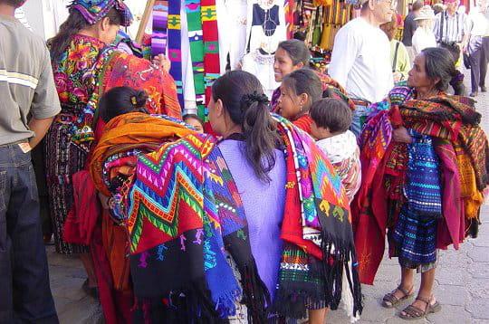 Chichicastenango au Guatemala