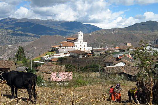Vers Cuenca en Equateur
