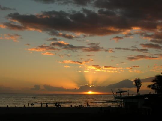 Coucher de soleil par temps nuageux les plus beaux - Les plus beaux coucher de soleil sur la mer ...