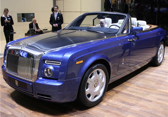 rolls royce phantom les nouveaut s du salon de gen ve 2007 linternaute. Black Bedroom Furniture Sets. Home Design Ideas