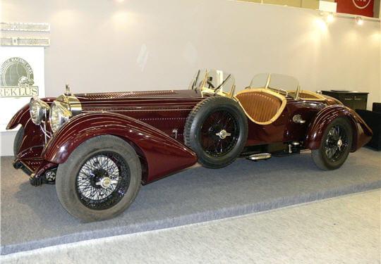 cette delage dm6 est un modèle rarissime de 1930. ses lignes très allongées