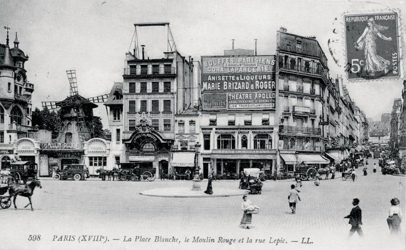 le 6 octobre 1889, au pied de la butte montmartre, l'ambiance est à la fête :