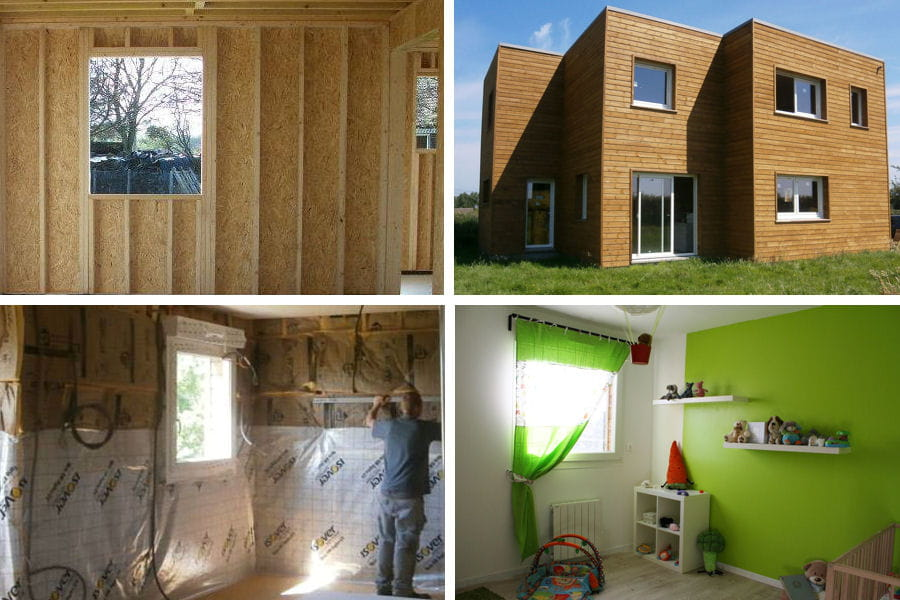 La maison en bois de pauline et alexandre for Andre maurois la maison