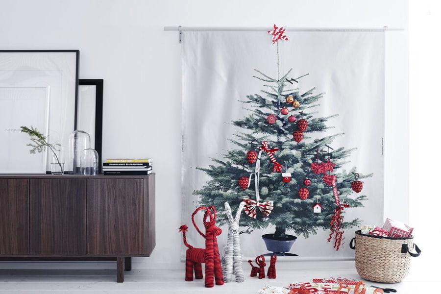 un sapin en tissu. Black Bedroom Furniture Sets. Home Design Ideas