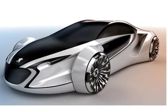 peugeot e motion, concept car