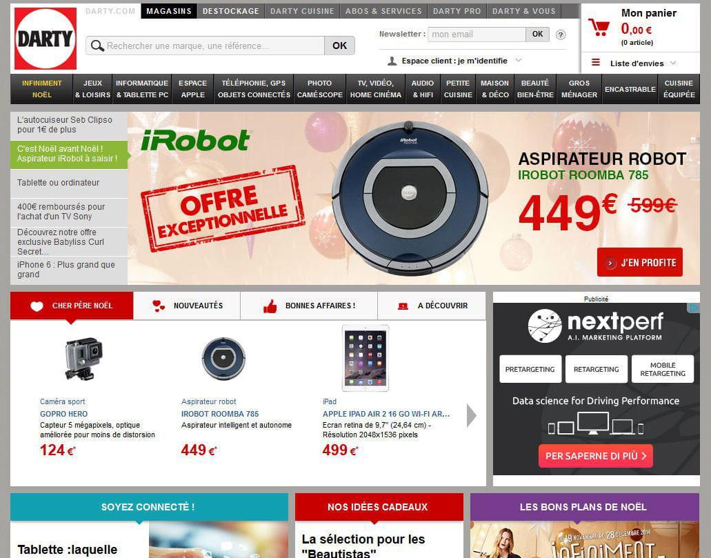 Darty meilleur site de produits technologiques quels for Meilleur site de reservation hotel en ligne