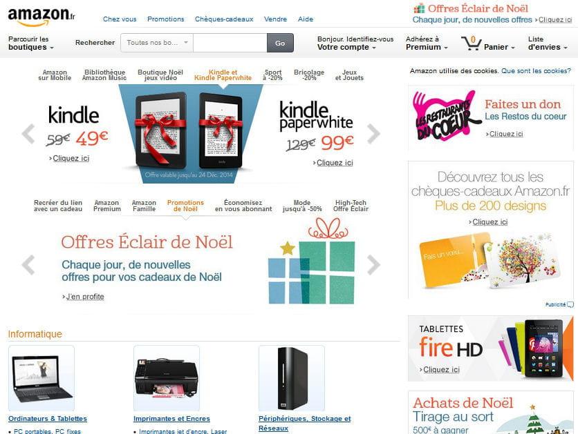 Amazon meilleur site de produits culturels quels sont for Meilleur site de reservation hotel en ligne