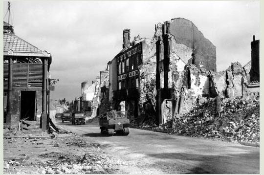 Normandie en ruine