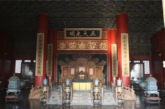 Salle du tr ne la cit interdite p kin linternaute - Salle du trone versailles ...