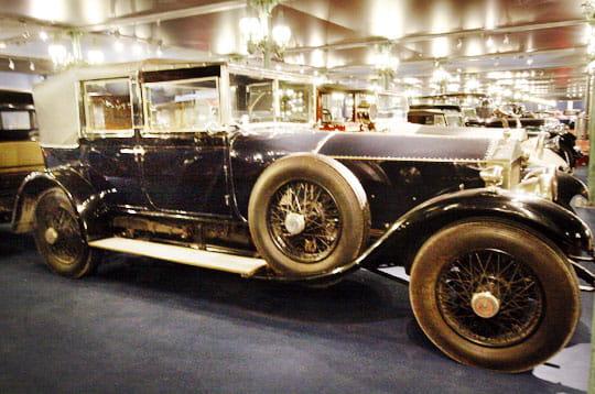 mythique silver ghost mus e de l 39 automobile de mulhouse 1923 1938 linternaute. Black Bedroom Furniture Sets. Home Design Ideas