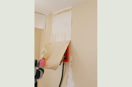Tirez le l d coller du papier peint linternaute for Decoller du papier peint sans decolleuse