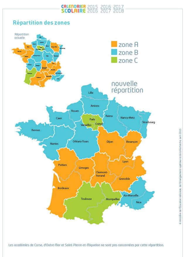 Vacances scolaires 2016 2017 2018 le nouveau - Vacances scolaires 2016 paris ...