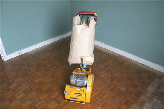 Comment poncer un parquet for Poncer un parquet vitrifie