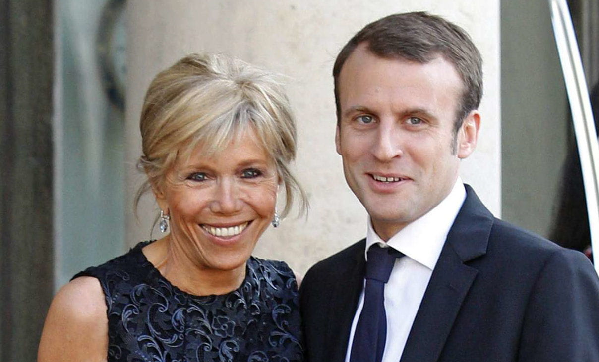 brigitte trogneux qu 39 importe l 39 ge l 39 ex prof d 39 emmanuel macron est devenue sa femme linternaute. Black Bedroom Furniture Sets. Home Design Ideas