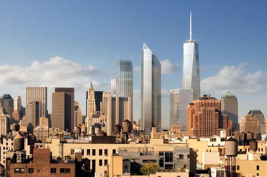 deux ans après les attentats du 11 septembre, un concours a été lancé par la