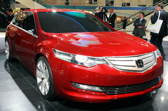 2007 Honda Accord Tourer Concept. Honda Accord Tourer Concept