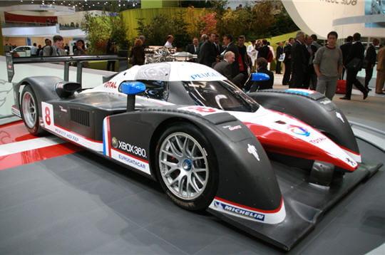 Francfort 2007 les sportives les voitures de courses for Peugeot 908 interieur