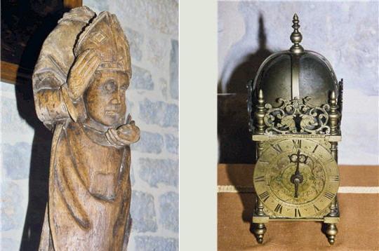outre le mobilier, le château de saint-projet abrite aussi de nombreux objets
