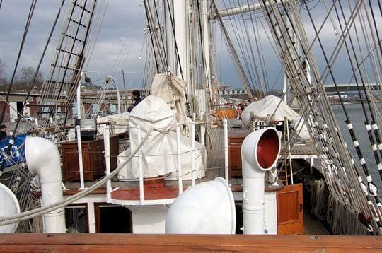 réaménagement du bateau