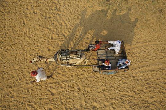 Nicolas Chorier风筝低空拍摄 - 碌碡画报 - 碌碡画报