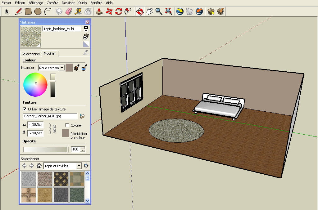 Ajouter un tapis r aliser un plan en 3d avec google for Realiser plan cuisine