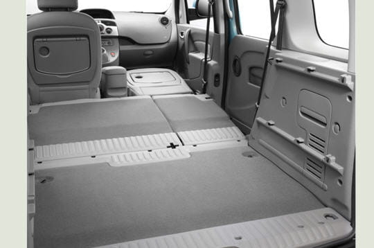 un volume de chargement important premi res images de la nouvelle renault kangoo linternaute. Black Bedroom Furniture Sets. Home Design Ideas