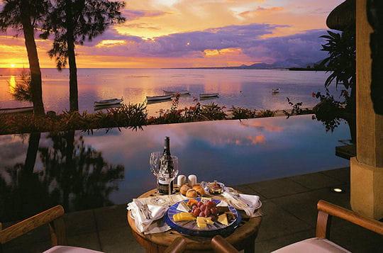 Le coucher du soleil obero hotel sur l 39 le maurice linternaute - Coucher du soleil montpellier ...