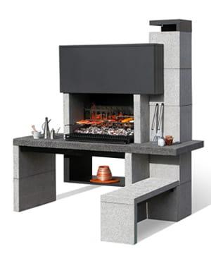moderne 20 barbecues pour des grillades estivales linternaute. Black Bedroom Furniture Sets. Home Design Ideas