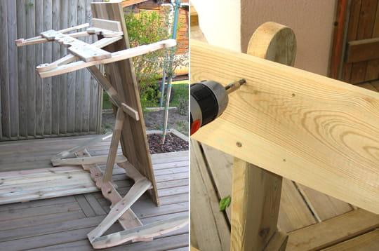 visser le dossier r aliser soi m me une table de jardin linternaute. Black Bedroom Furniture Sets. Home Design Ideas