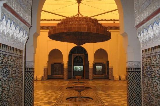 Hall du musée de Marrakech