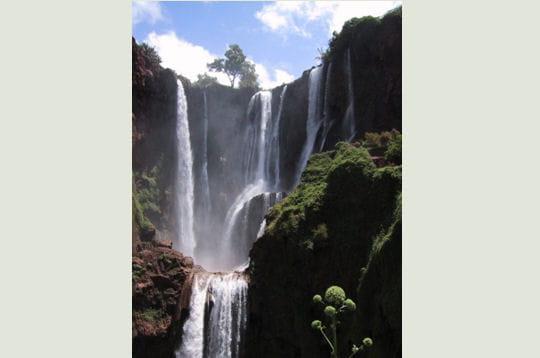 La cascade d'Ouzoud