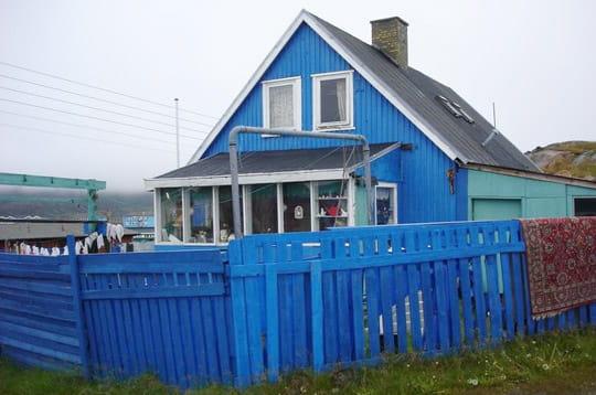 Une maison bleue au groenland - Chanson une maison bleue ...