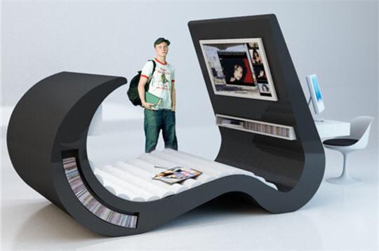 le si ge pour ados bienvenue dans la maison high tech. Black Bedroom Furniture Sets. Home Design Ideas