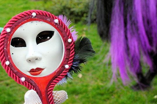 Miroir mon beau miroir un carnaval v nitien paris for Miroir venitien paris